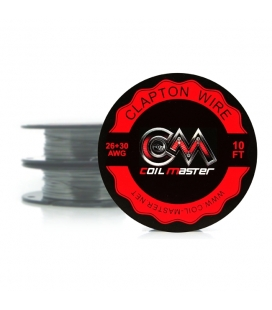 K CLAPTON WIRE - 26+30 - 10FT - COILMASTER