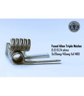Alien Triple Nucleo 0.24/0.12 (2 piezas) Bacterio Coil