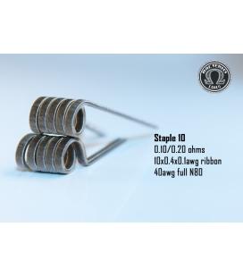Staple 0.20/0.10 (2 piezas) Bacterio Coil