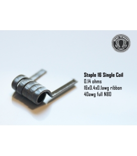 Staple 16 SINGLE COIL 0.14 Bacterio Coil