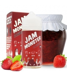 Strawberry 100ml TPD - Jam Monster
