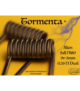 TORMENTA - ALIEN 0.27/0.52 - LADY COILS