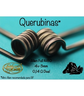 QUERUBINAS - MINI ALIEN 0.14/0.28 - LADY COILS
