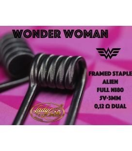 WONDER WOMAN - FRAMED STAPLE ALIEN 0.12/0.24 - LADY COILS