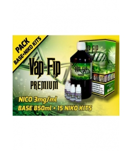 Pack Base 1000ml 3mg TPD - VapFip