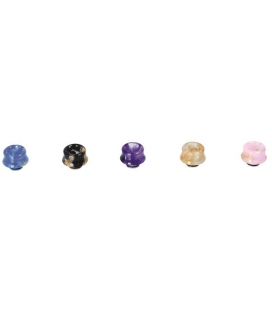 DRIP TIP RESINA CURVED MARBLE 510 - DIAMOND MIST