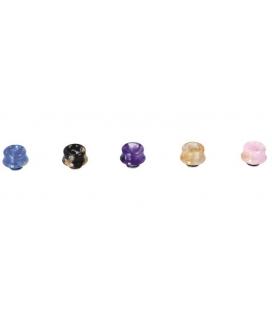 DRIP TIP RESINA BUBBLE FUSION 810 - DIAMOND MIST