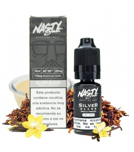SILVER BLEND NIC SALT 10ML - NASTY
