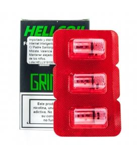 RESISTENCIA HELLCOIL GRIMM H3-01 - HELLVAPE