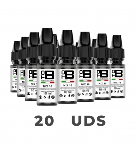 PACK 20X NICOKITS NIX 60PG/40VG 10ML 20MG - TOB