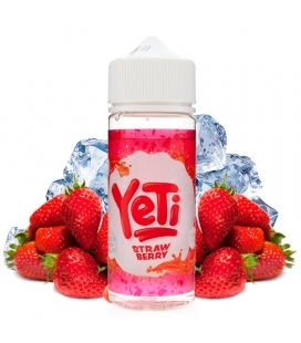 Strawberry 100ml - Yeti Eliquid