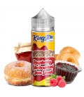 Raspberry Blackcurrant Jam Donut 100ml - Kingston E-liquids