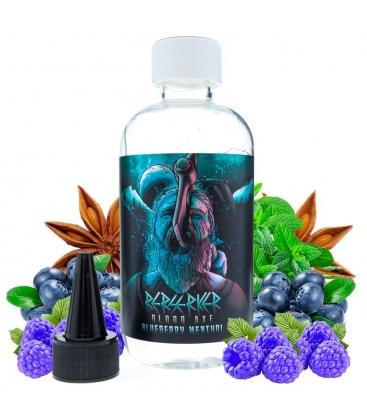 Blueberry Menthol 200ml - Berserker Blood Axe by Joe's Juice