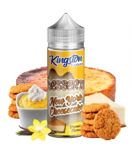 New York Cheesecake 100ml - Kingston E-liquids
