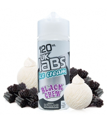 Black Chew 100ml - UK Labs Ice Cream