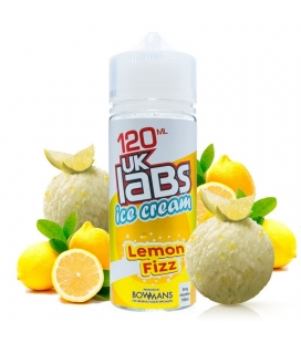 Lemon Fizz 100ml - UK Labs Ice Cream