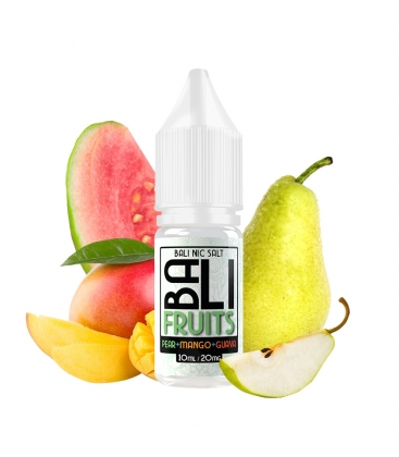 Pear + Mango + Guava 10ml - Bali Fruits Salts by Kings Crest