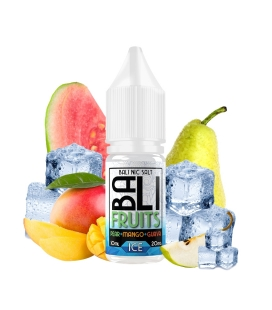 Pear + Mango + Guava Ice 10ml - Bali Fruits Salts by Kings Crest