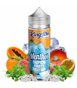 Tropical Fruits Menthol 100ml - Kingston E-liquids